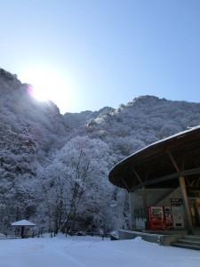 冬のこまどり荘